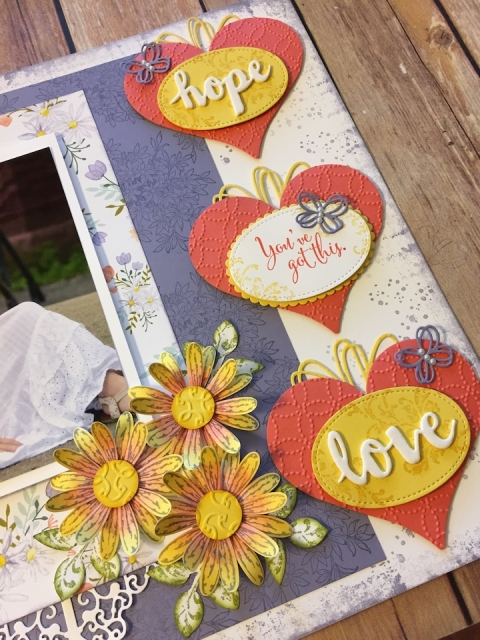 sassy & sweet framelits, Stampin up, layering ovals, stitched shapes, quilt top embossing folder, scrapbook, sunshine wishes, techniques