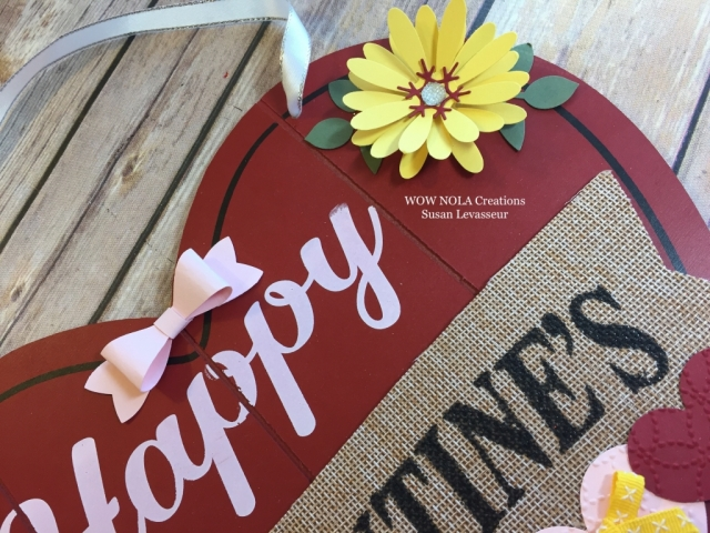 WOW NOLA Creations, Susan Levasseur, Stampin' UP!, Valentine Decor