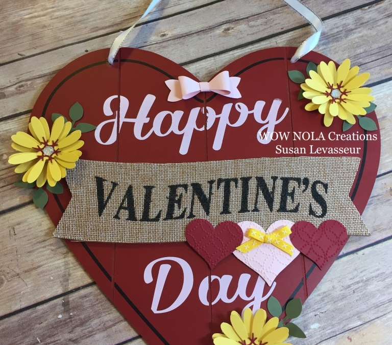 Valentine Decor Stampin' UP! Style