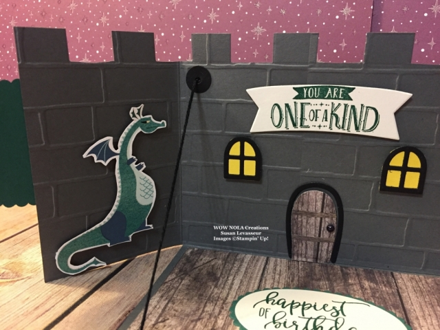WOW NOLA Creations, Susan Levasseur, Stampin' Up!, Magical Day