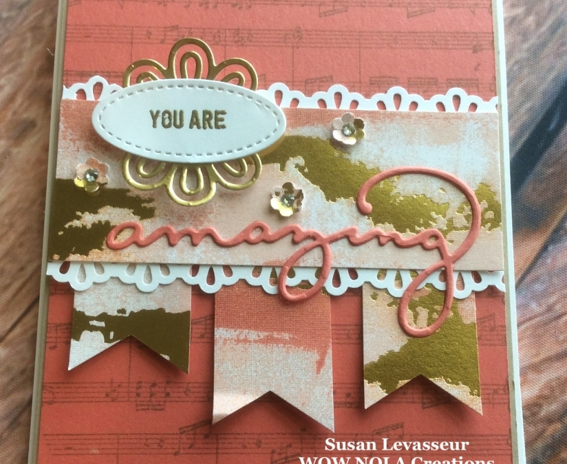 Celebrate You Are Amazing Card