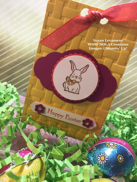 Susan Levasseur, Stampin' UP!, Bunny Treat Holder, A Good Day