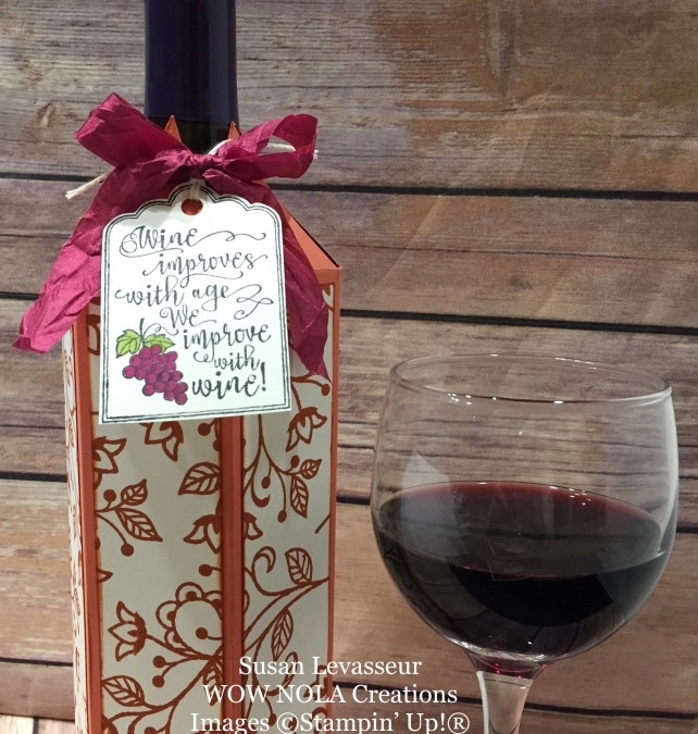 Wine Bottle Cover Flourishing Phrases