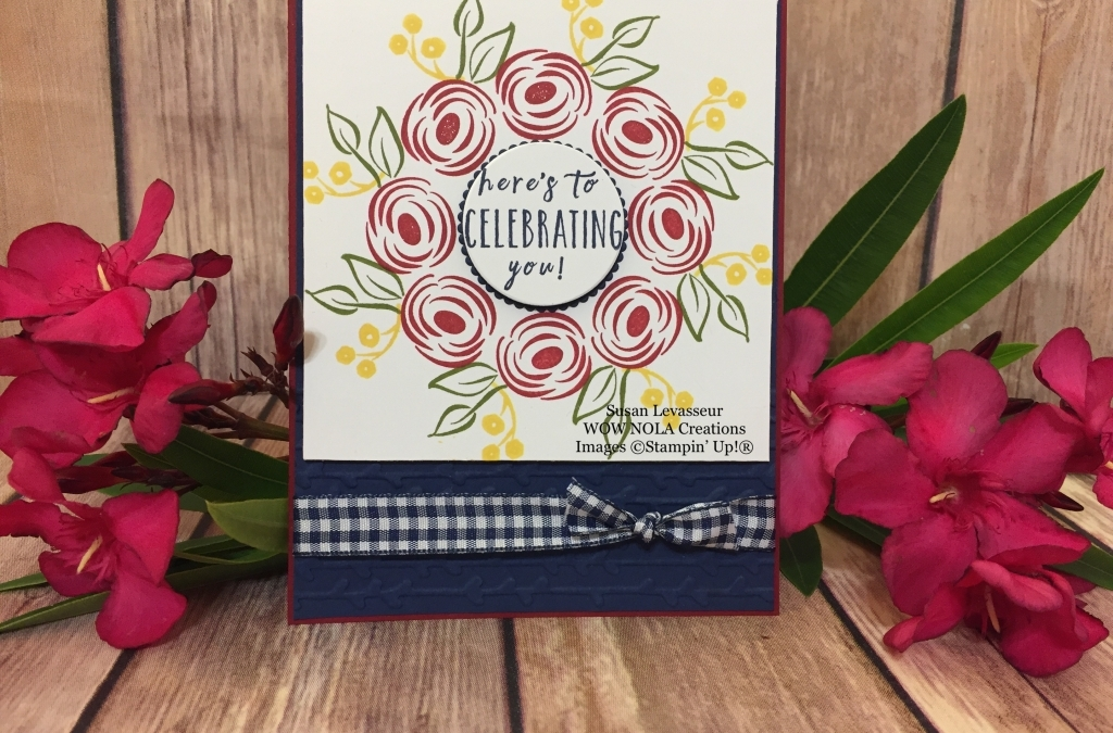 Wreath Card with Stamparatus