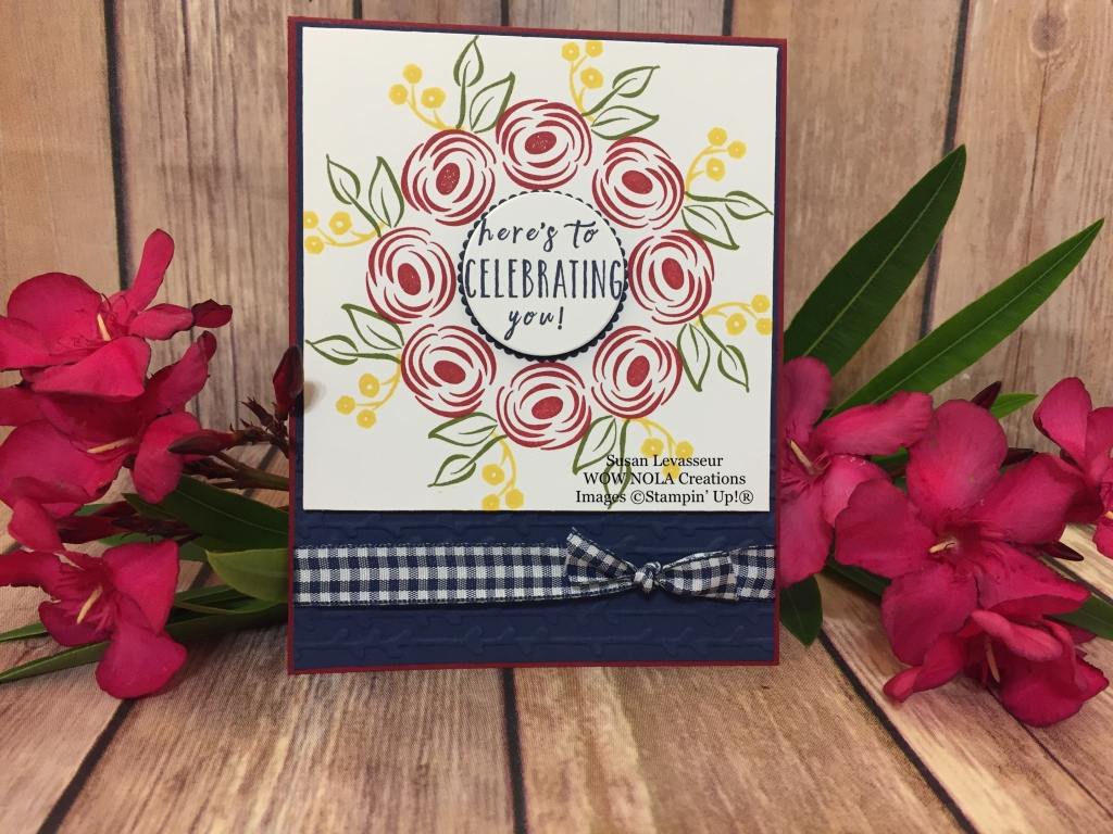 Wreath Card With Stamparatus Create Something Beautiful
