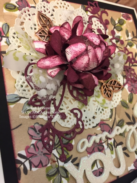 Susan Levasseur, WOW NOLA Creations, Keepsake Memory Box, Stampin' Up!