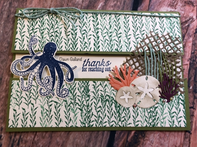 Dawn Galland, Susan's WOW Team Card Swap, Stampin' Up!