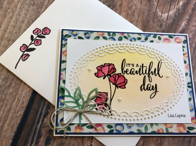 Lisa Lepine, Susan's WOW Team Card Swap, Stampin' Up!