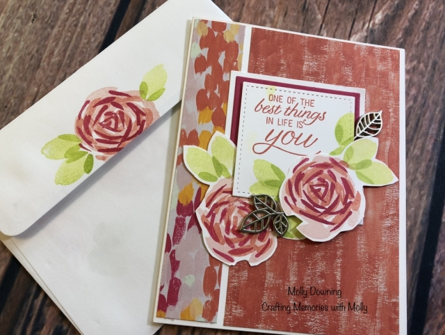 Molly Downing, Susan's WOW Team Card Swap, Stampin' Up!
