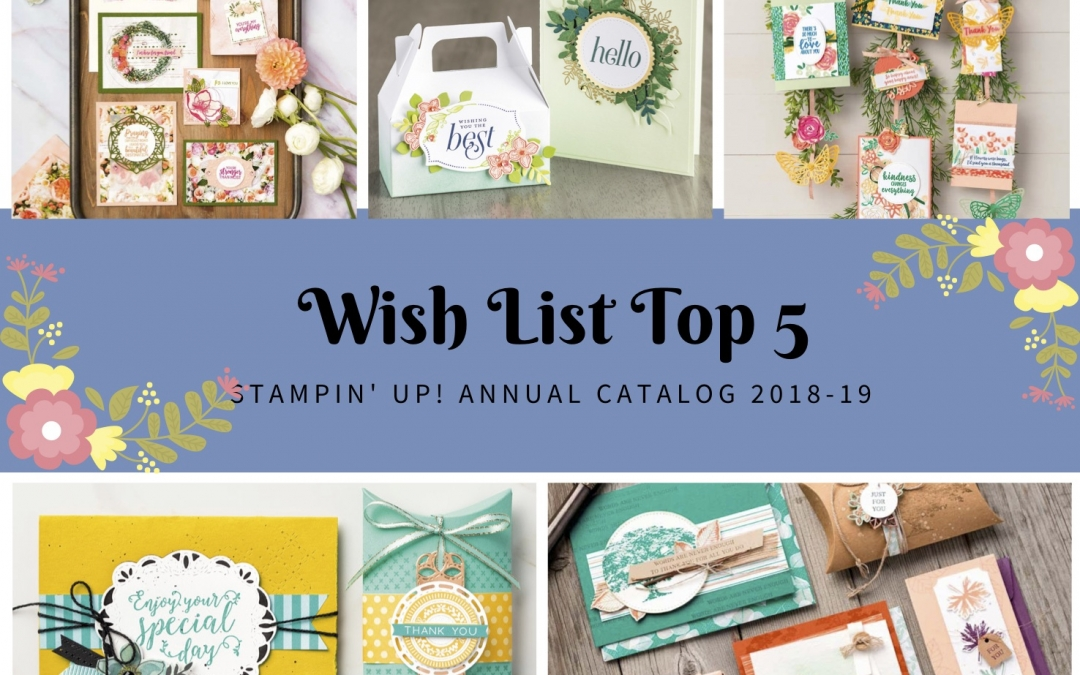 WOW Wish List Top 5 Annual Catalog