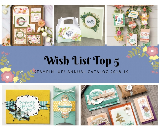Susan Levasseur, WOW NOLA Creations, WOW Wishlist Stampin' Up! Annual Catalog