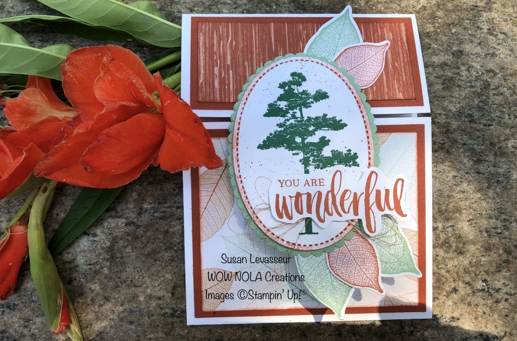 You Are Wonderful Rooted in Nature Card