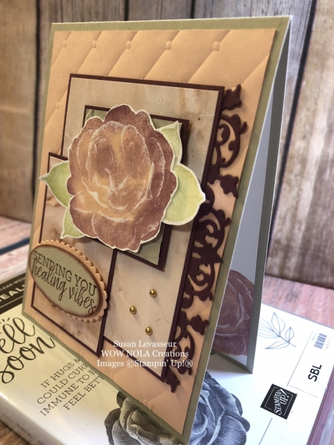 Susan Levasseur, WOW NOLA Creations, Healing Hugs Get Well, Stampin' Up!