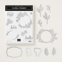 Susan Levasseur, WOW Class to GO!, Floral Frames, Stampin' Up!