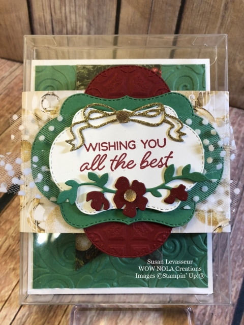 Susan Levasseur, WOW NOLA Creations, Blended Seasons, Stampin' Up!