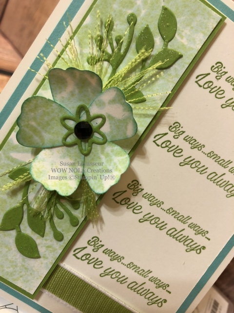 Susan Levasseur, WOW NOLA Creations, Techniques Galore, Stampin' Up!