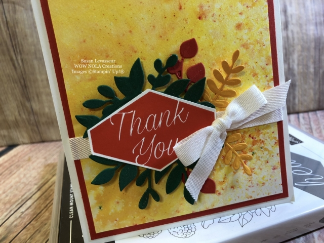 Susan Levasseur, WOW NOLA Creations, Accented Blooms, Stampin' Up!