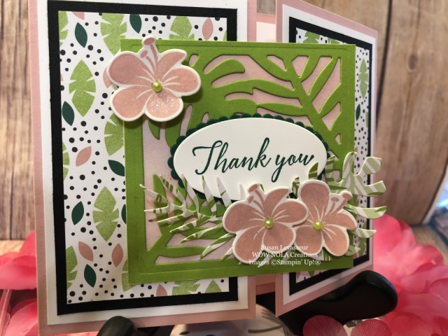 Susan Levasseur, WOW NOLA Creations, Tropical Chic, Stampin' Up!