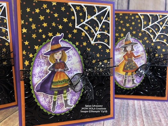 Halloween Card Toil & Trouble