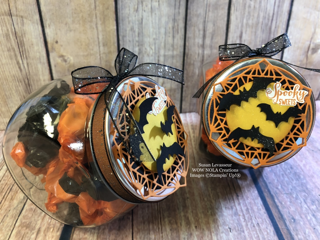 Spooky Sweets Halloween Candy Jar