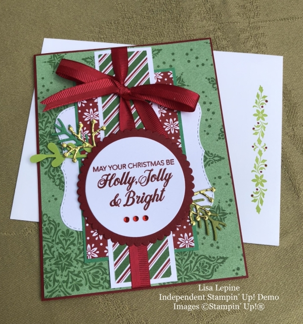 Lisa Lepine, Stampin' Up!, WOW Christmas Card Swap