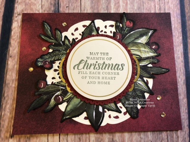Susan Levasseur, WOW NOLA Creations, Timeless Tidings Project Kit, Stampin' Up!