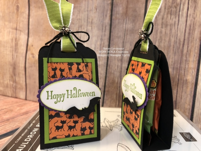 Susan Levasseur, WOW NOLA Creations, Halloween Treats, Stampin' Up!