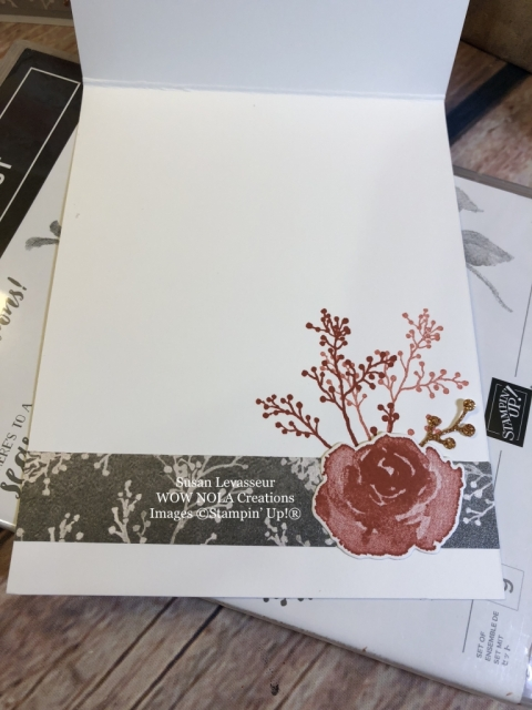 Susan Levasseur, WOW NOLA Creations, World Card Making Day, First Frost, Stampin' Up!