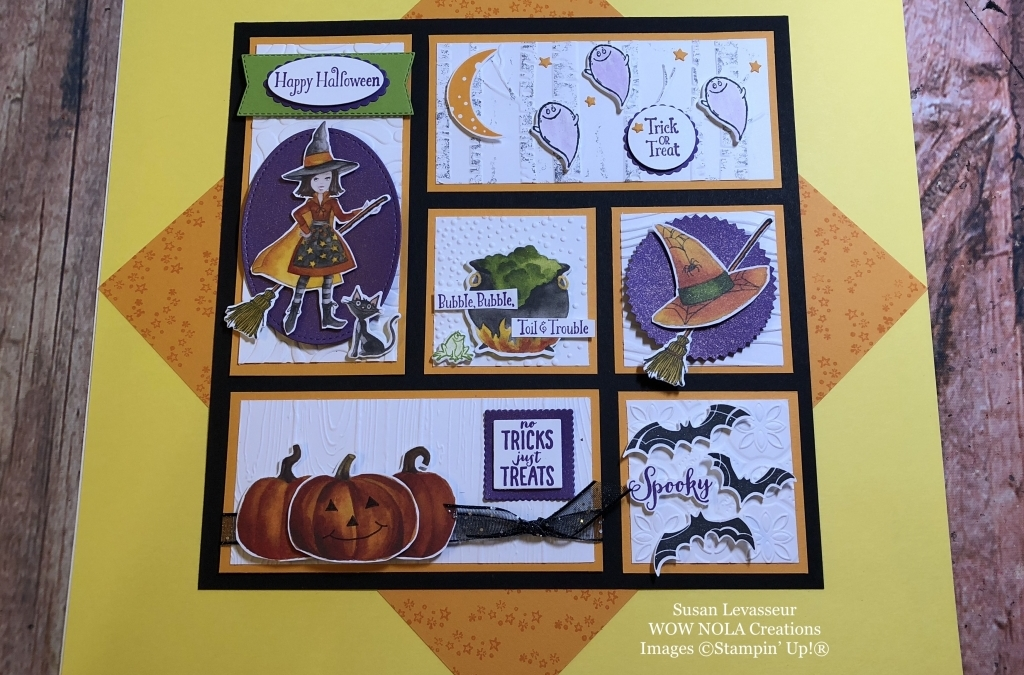 Halloween Sampler Toil & Trouble