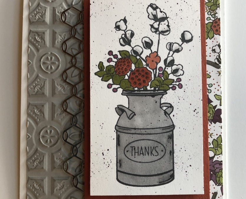 Country Home Fall Card