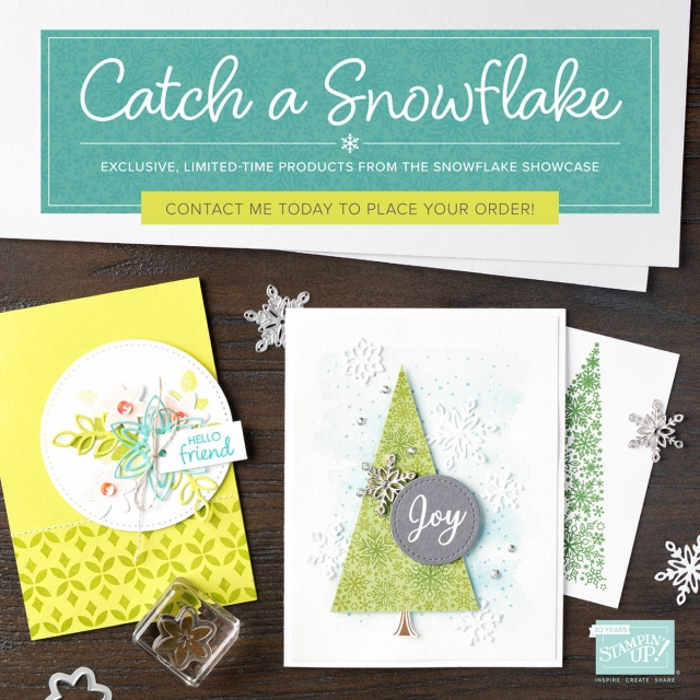 Susan Levasseur, WOW NOLA Creations, Showflake Showcase, Stampin' Up!