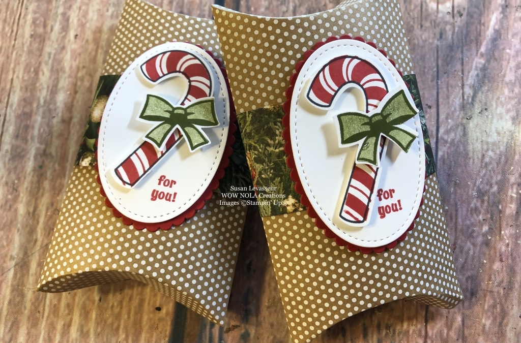 Candy Cane Season Gift Card Holder