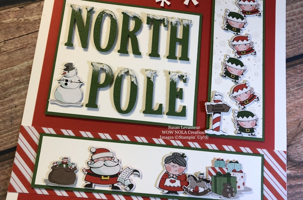 Signs of Santa North Pole