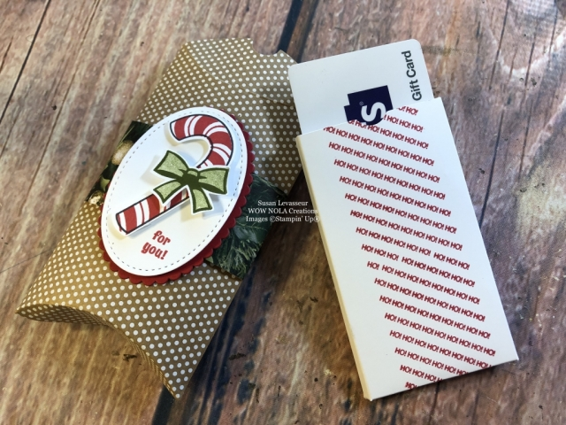 Susan Levasseur, WOW NOLA Creations, Candy Cane Season, Stampin' Up!