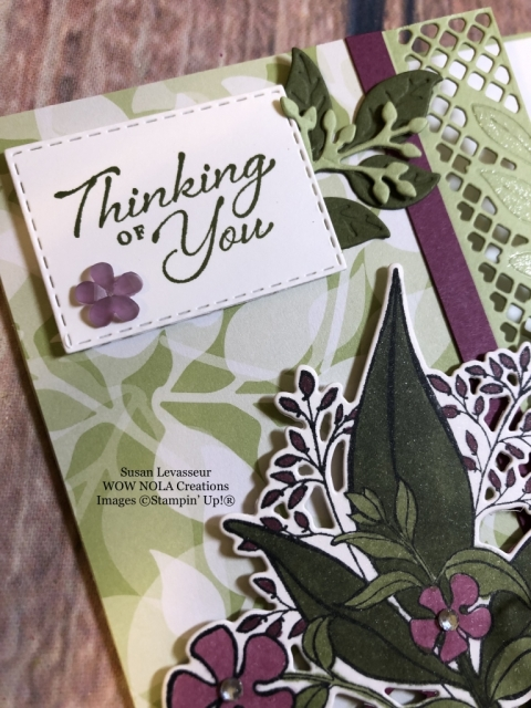 Susan Levasseur, WOW NOLA Creations, Wonderful Romance, Stampin' Up!