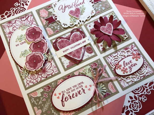 Susan Levasseur, WOW NOLA Creations, Forever Lovely Sampler Class