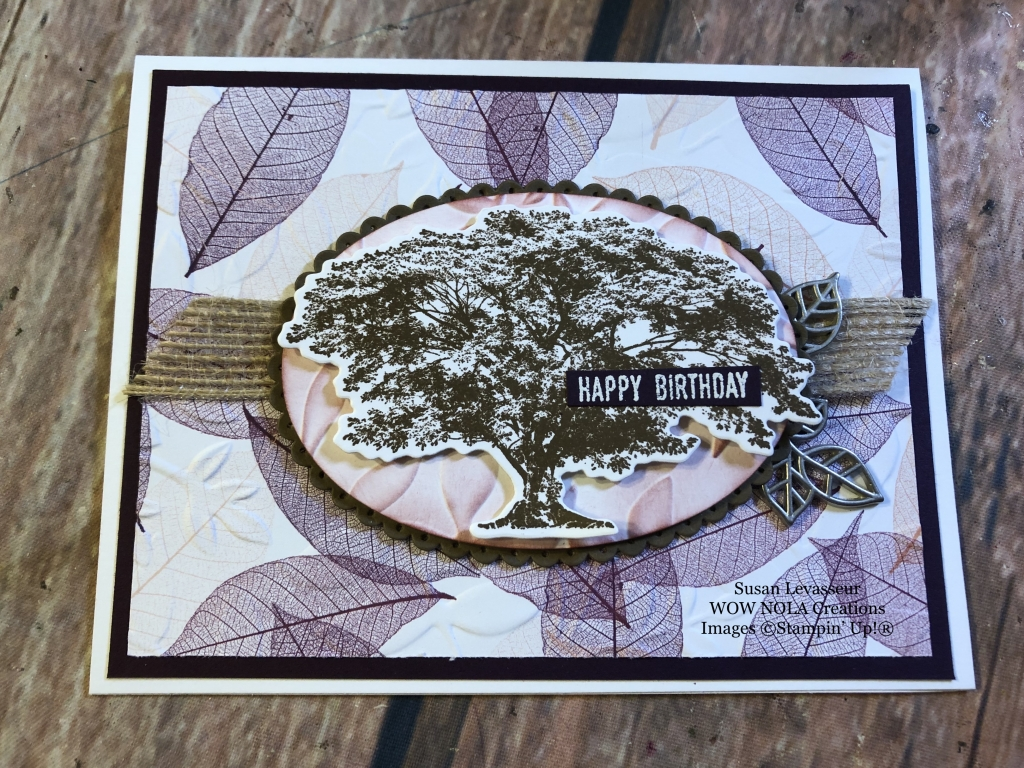 Rooted in Nature Birthday Card