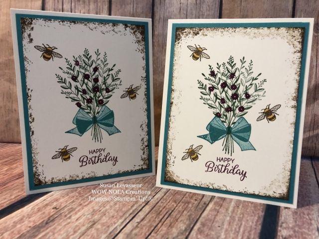 Susan Levasseur, WOW NOLA Creations, Wishing You Well, Stampin' Up!