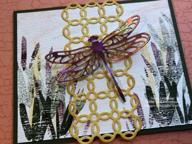 Susan Levasseur, WOW NOLA Creations, DragonflyDreams, Stampin' Up!