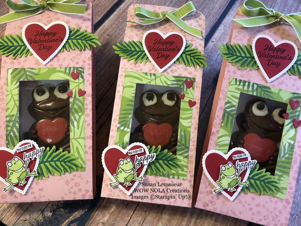 Susan Levasseur, WOW NOLA Creations, So Hoppy Valentine Treat, Stampin' Up!