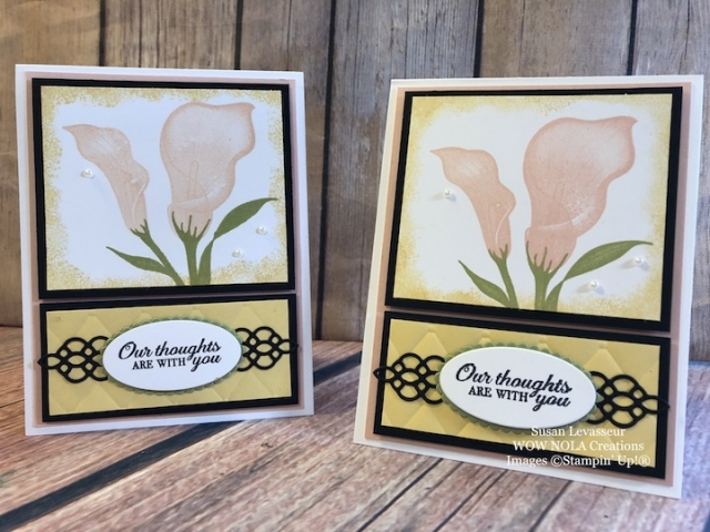 Susan Levasseur, WOW NOLA Creations, Lasting Lily, Sale-a-Bration, Stampin' Up!