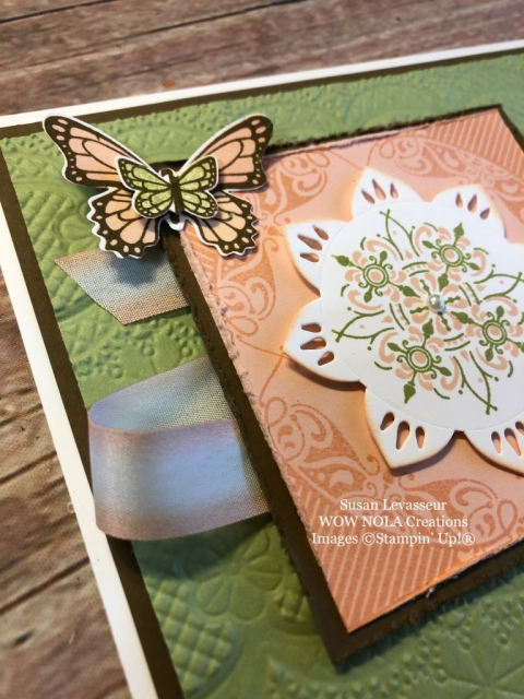 Susan Levasseur, WOW NOLA Creations, All Adorned, Stampin' Up!