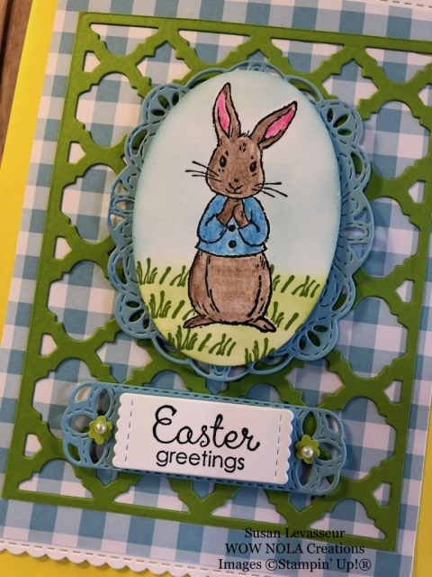 Susan Levasseur, WOW NOLA Creations, Easter Gift Bag, Fable Friends, Stampin' Up!
