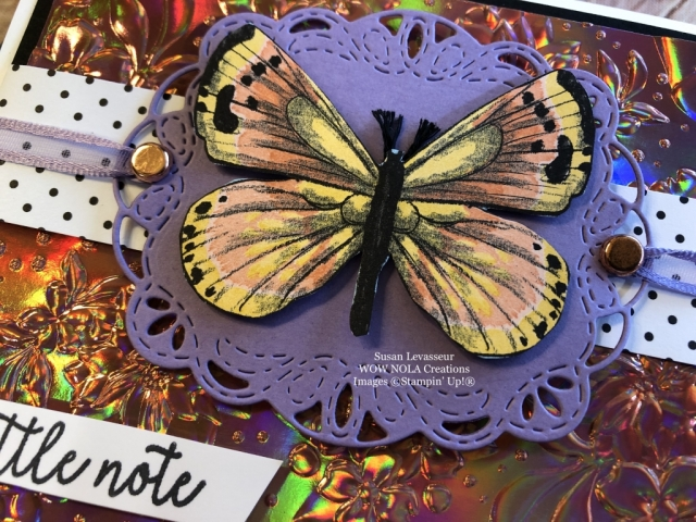 Susan Levasseur, WOW NOLA Creations, Country Floral, Stampin' Up!