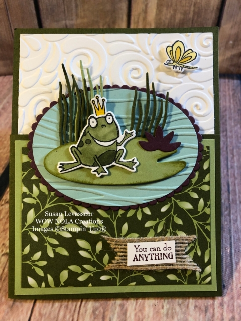 Susan Levasseur, WOW NOLA Creations, So Hoppy Together, Stampin' Up!, Sale-a-Bration
