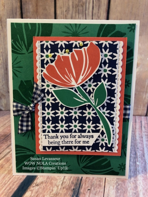 Susan Levasseur, WOW NOLA Creations, Bloom by Bloom, Stampin' Up!