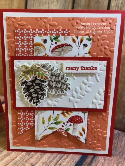 Susan Levasseur, WOW NOLA Creations, Four Seasons, Painted Seasons, Sale-a-Bration, Stampin' Up!