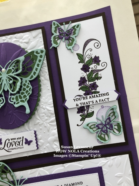 Susan Levasseur, WOW NOLA Creations, Amazing Gift Bag, Stampin' Up!