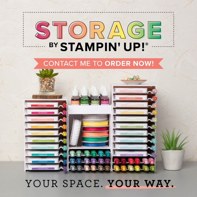Susan Levasseur, WOW NOLA Creations, Storage by Stampin' Up!