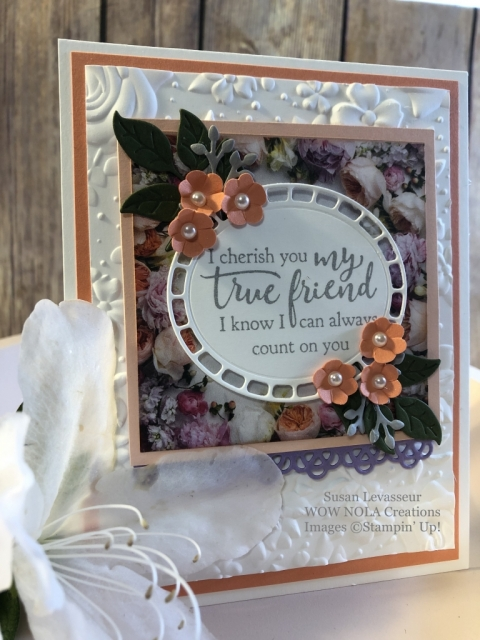 Susan Levasseur, WOW NOLA Creations, Petal Promenade Card Set, Stampin' Up!